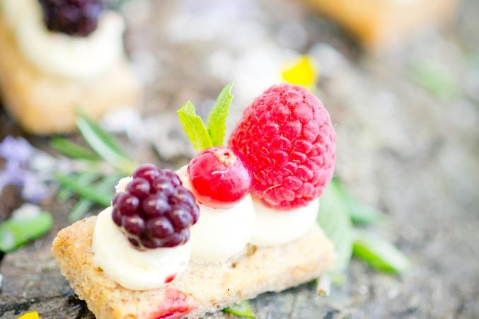 tarte au fruits rouges